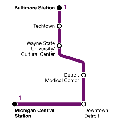bus route diagram